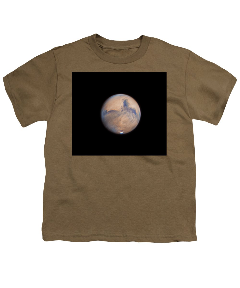 Mars Youth T-Shirt featuring the photograph Mars from 31st October 2020 by Prabhu Astrophotography