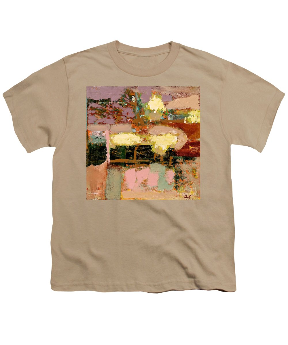 Landscape Youth T-Shirt featuring the painting Chopped Liver by Allan P Friedlander