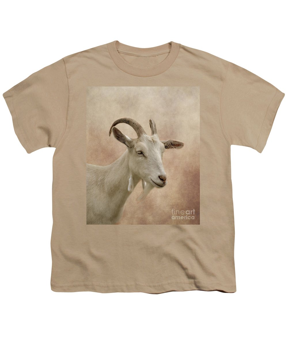 Goat Youth T-Shirt featuring the photograph Goat by Linsey Williams