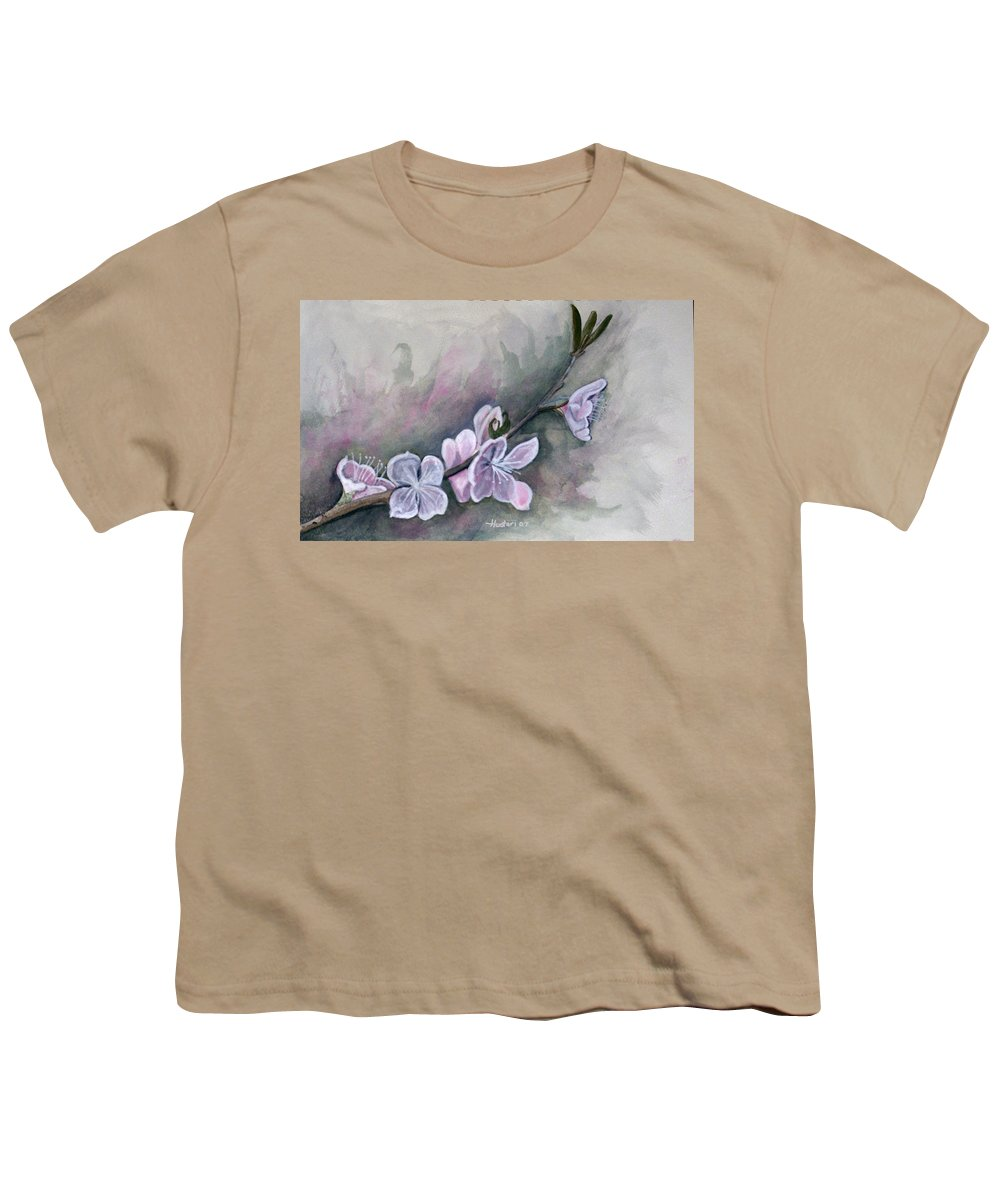 Rick Huotari Youth T-Shirt featuring the painting Spring Splendor by Rick Huotari