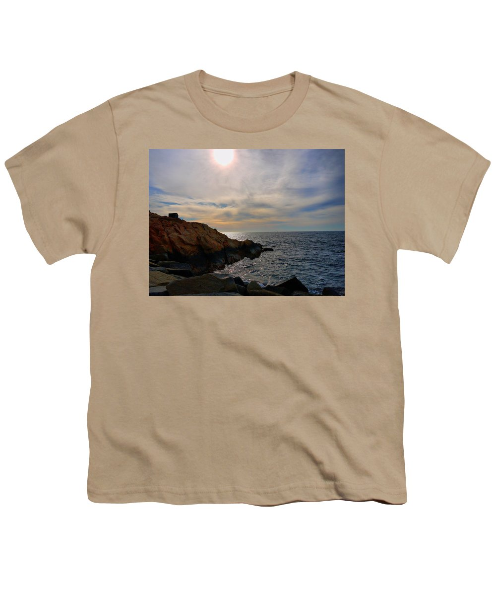 Ocean Youth T-Shirt featuring the photograph Calming by Nancie DeMellia