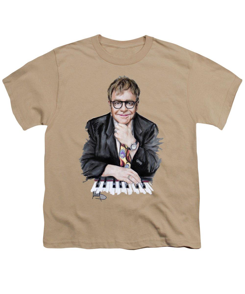 Elton John Youth T-Shirts
