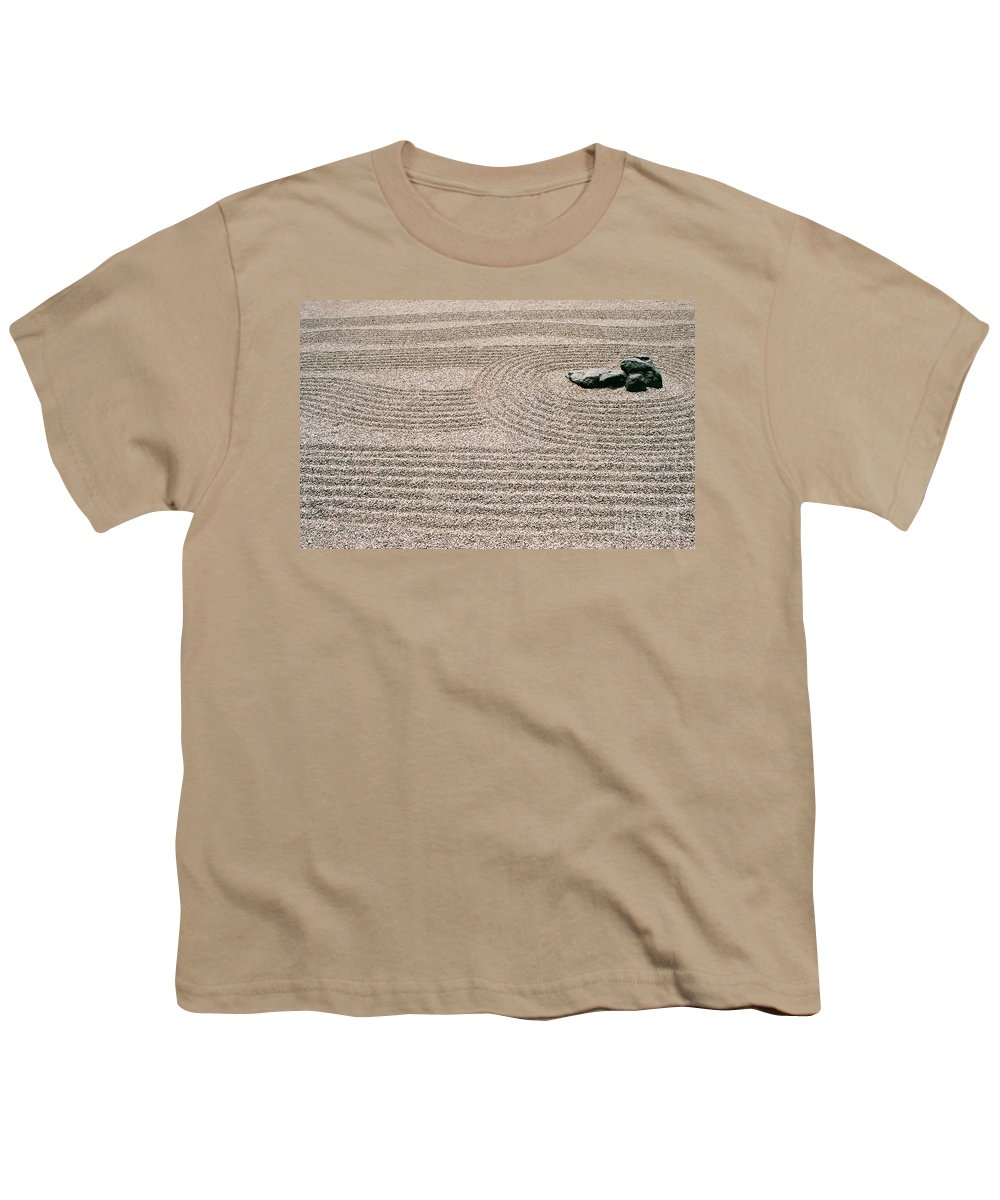 Zen Youth T-Shirt featuring the photograph Zen Garden by Dean Triolo