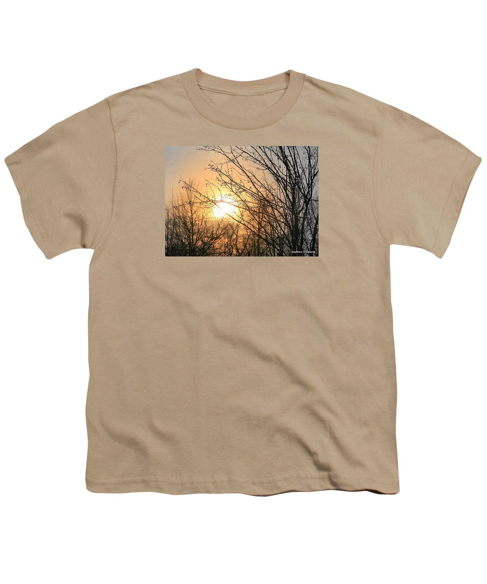 Sun Youth T-Shirt featuring the photograph A Winter's Day After Glow by J R Seymour