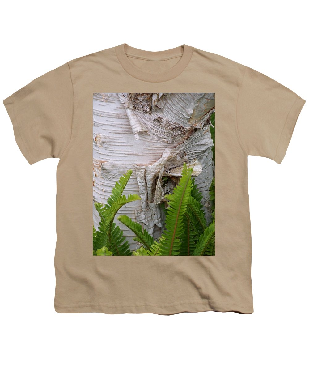 Tree Youth T-Shirt featuring the photograph Birch Fern by Gale Cochran-Smith