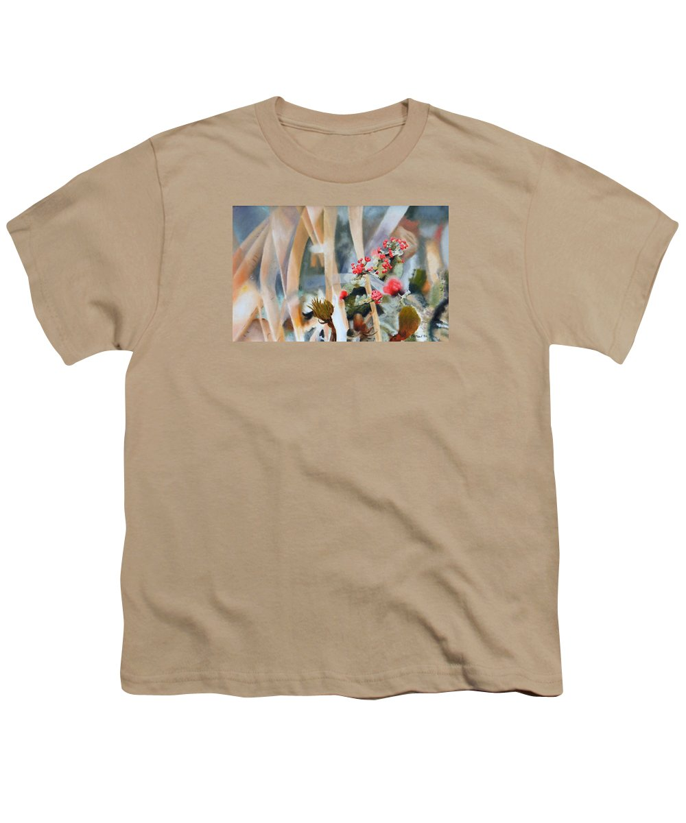 Nature Youth T-Shirt featuring the painting British Soldiers by Dave Martsolf