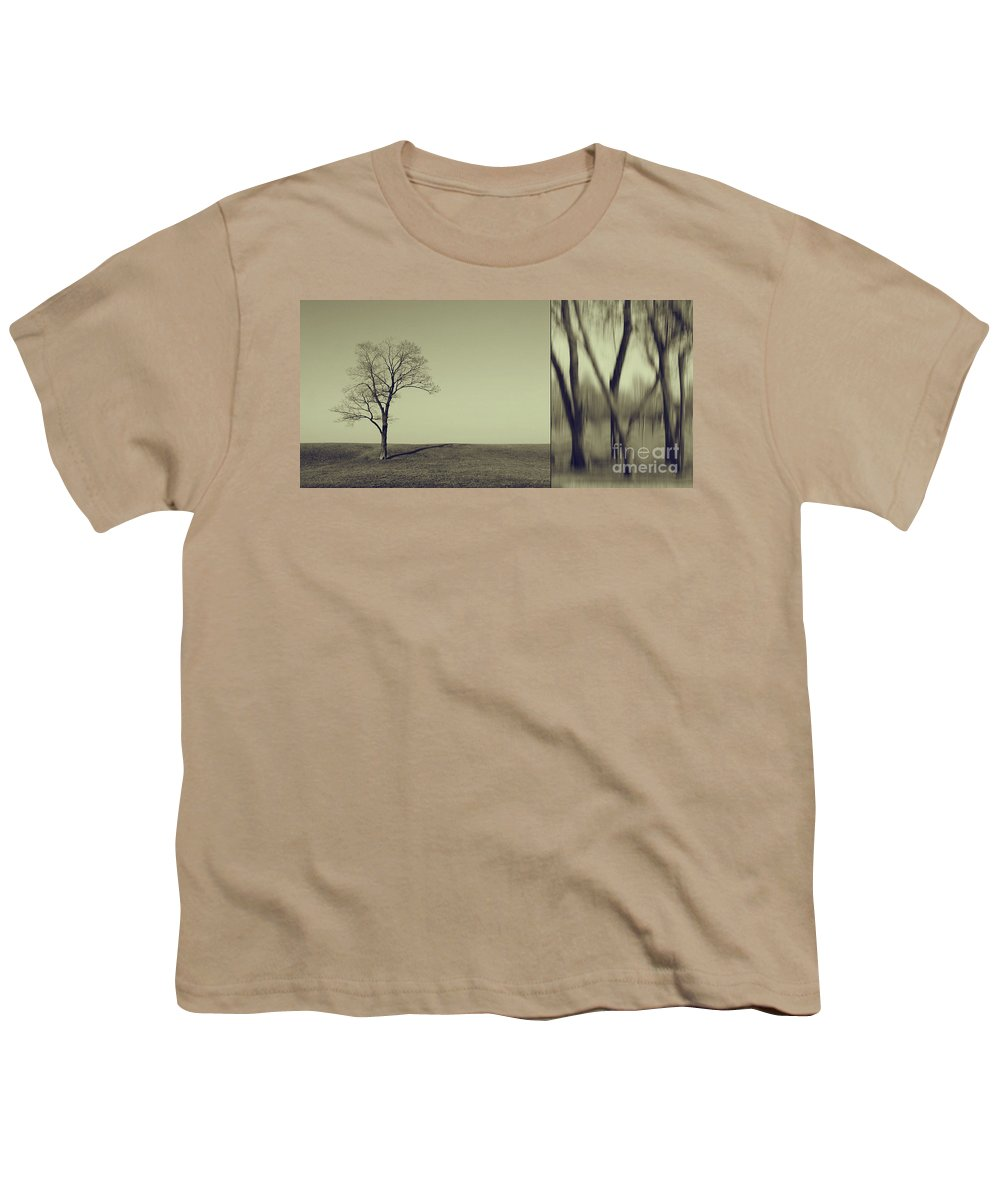 Chicago Youth T-Shirt featuring the photograph Can You Hear My Silent Words Whispering Along The Wind by Dana DiPasquale