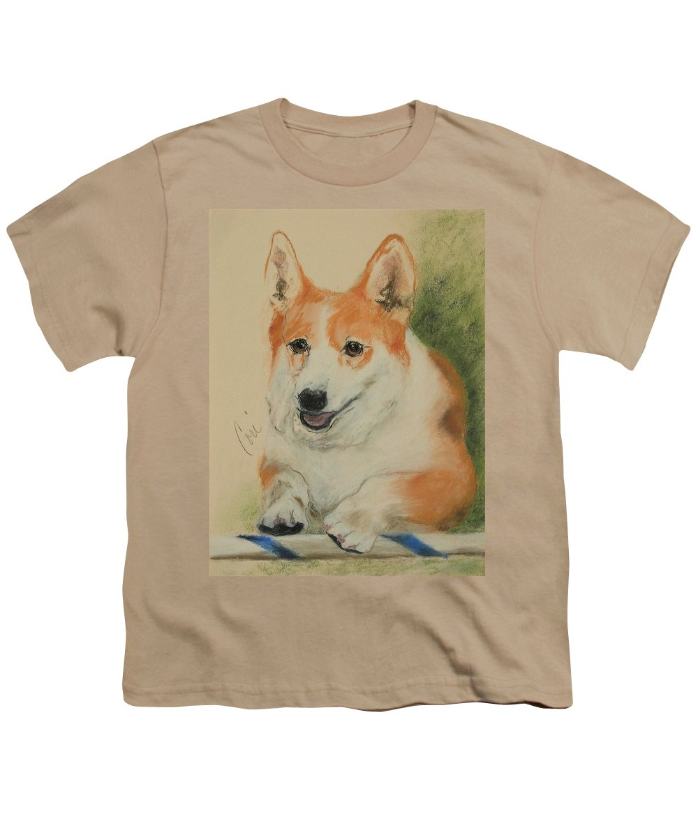 Pastel Youth T-Shirt featuring the drawing Clear Run by Cori Solomon