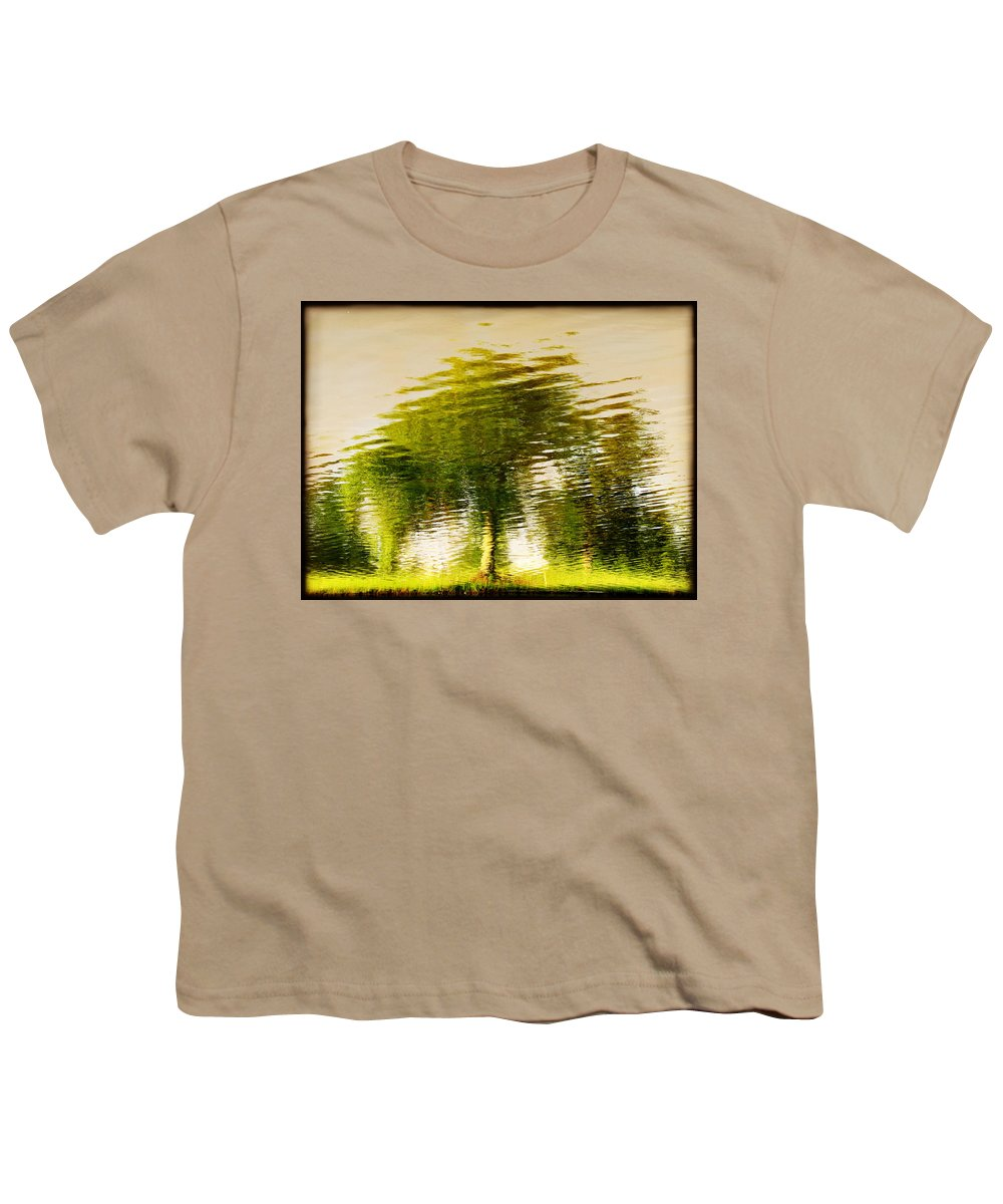Abstract Youth T-Shirt featuring the photograph Gentle Sun by Dana DiPasquale
