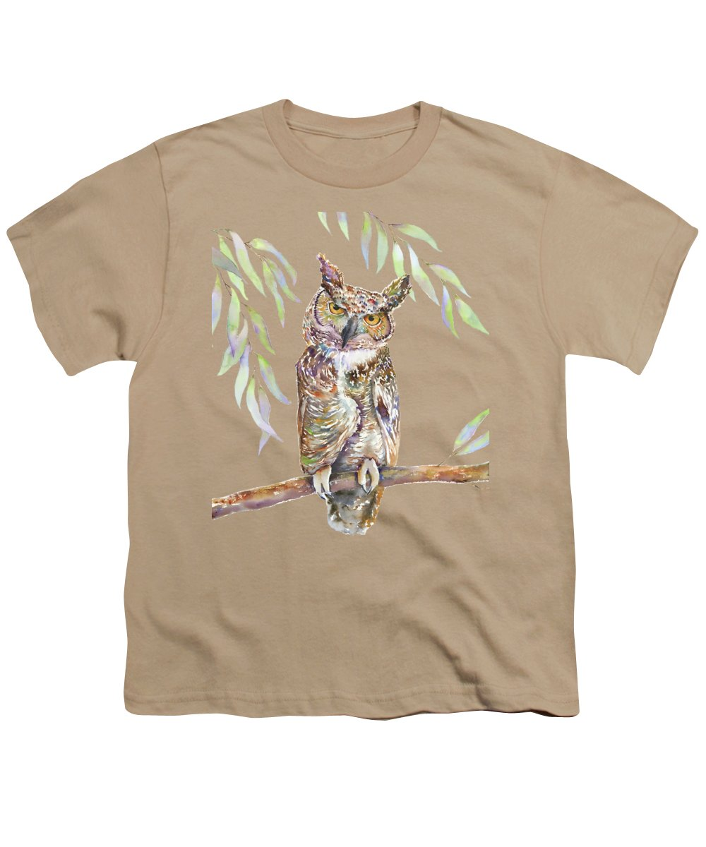 Great Horned Owl Youth T-Shirts