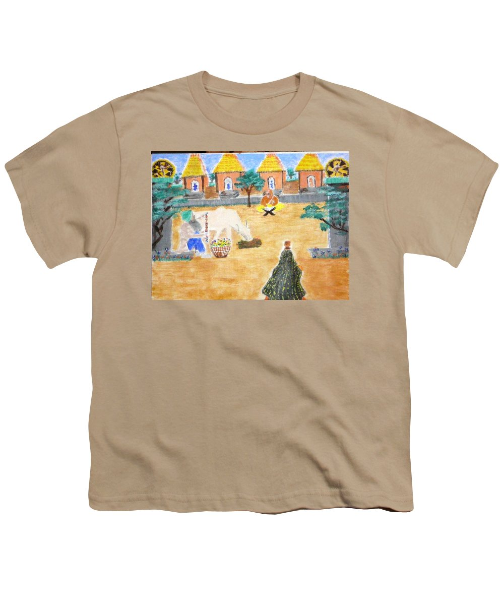 Youth T-Shirt featuring the painting Harmony by R B