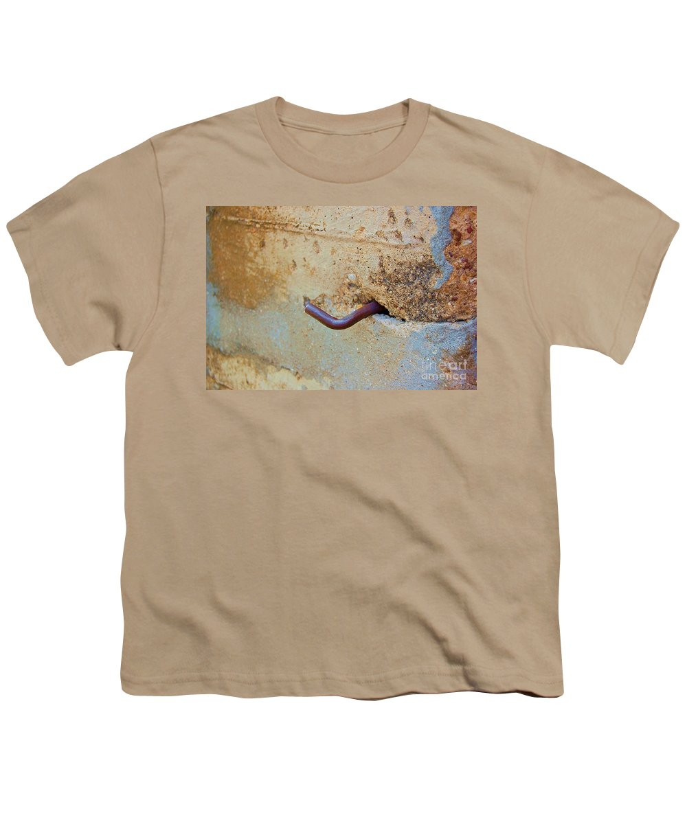 Metal Youth T-Shirt featuring the photograph Hook by Debbi Granruth