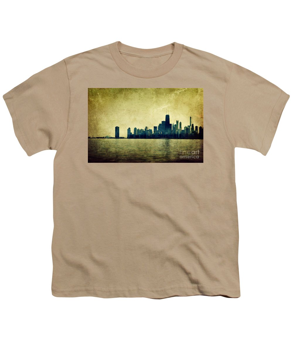 Dipasquale Youth T-Shirt featuring the photograph I Will Find You Down The Road Where We Met That Night by Dana DiPasquale