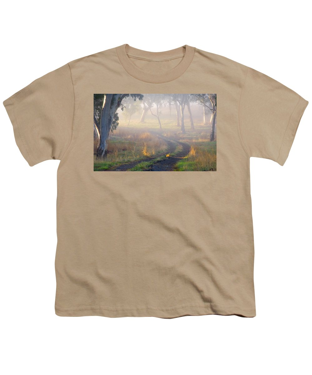 Mist Youth T-Shirt featuring the photograph Into The Mist by Mike Dawson