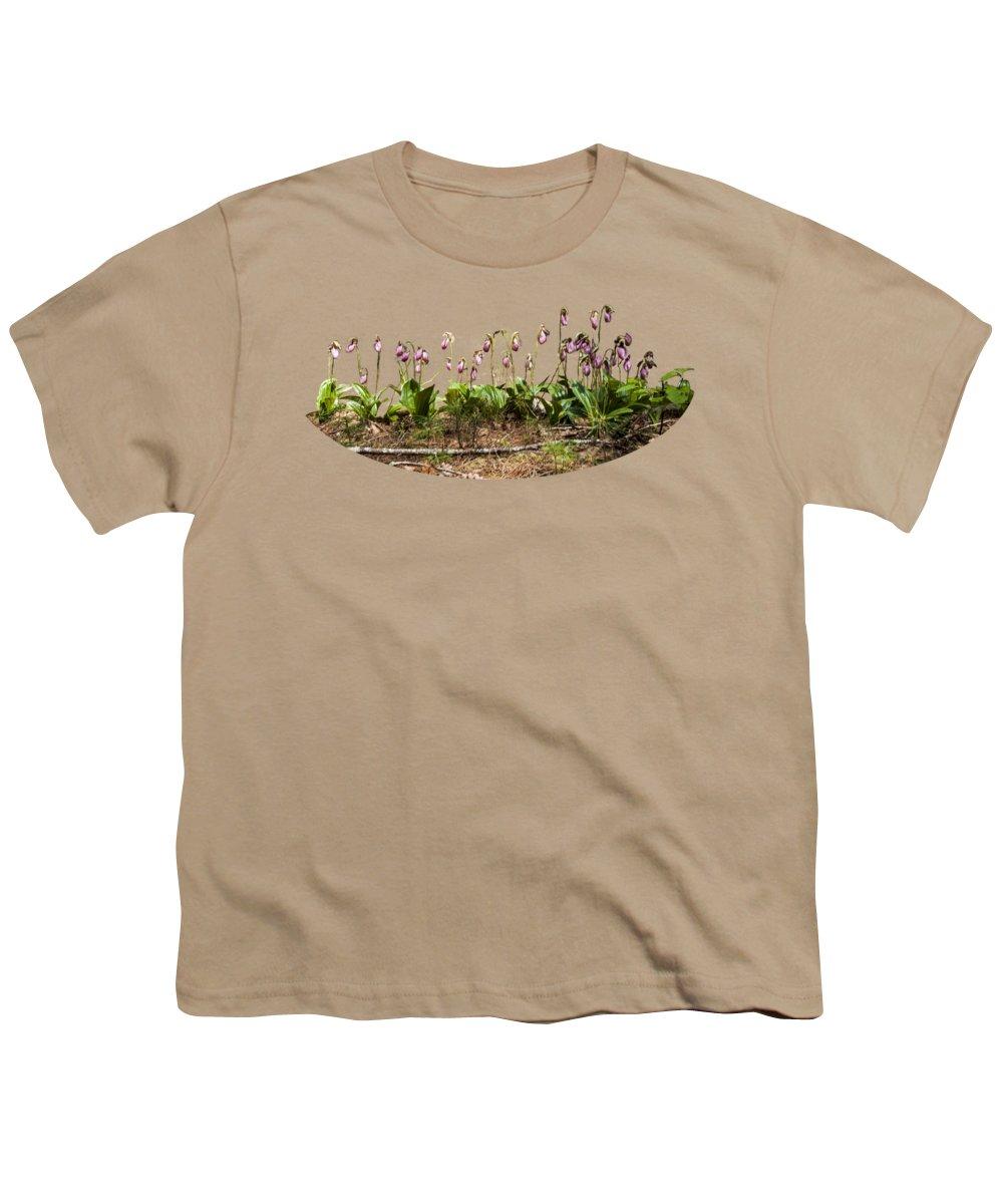 Lady Slipper Youth T-Shirts