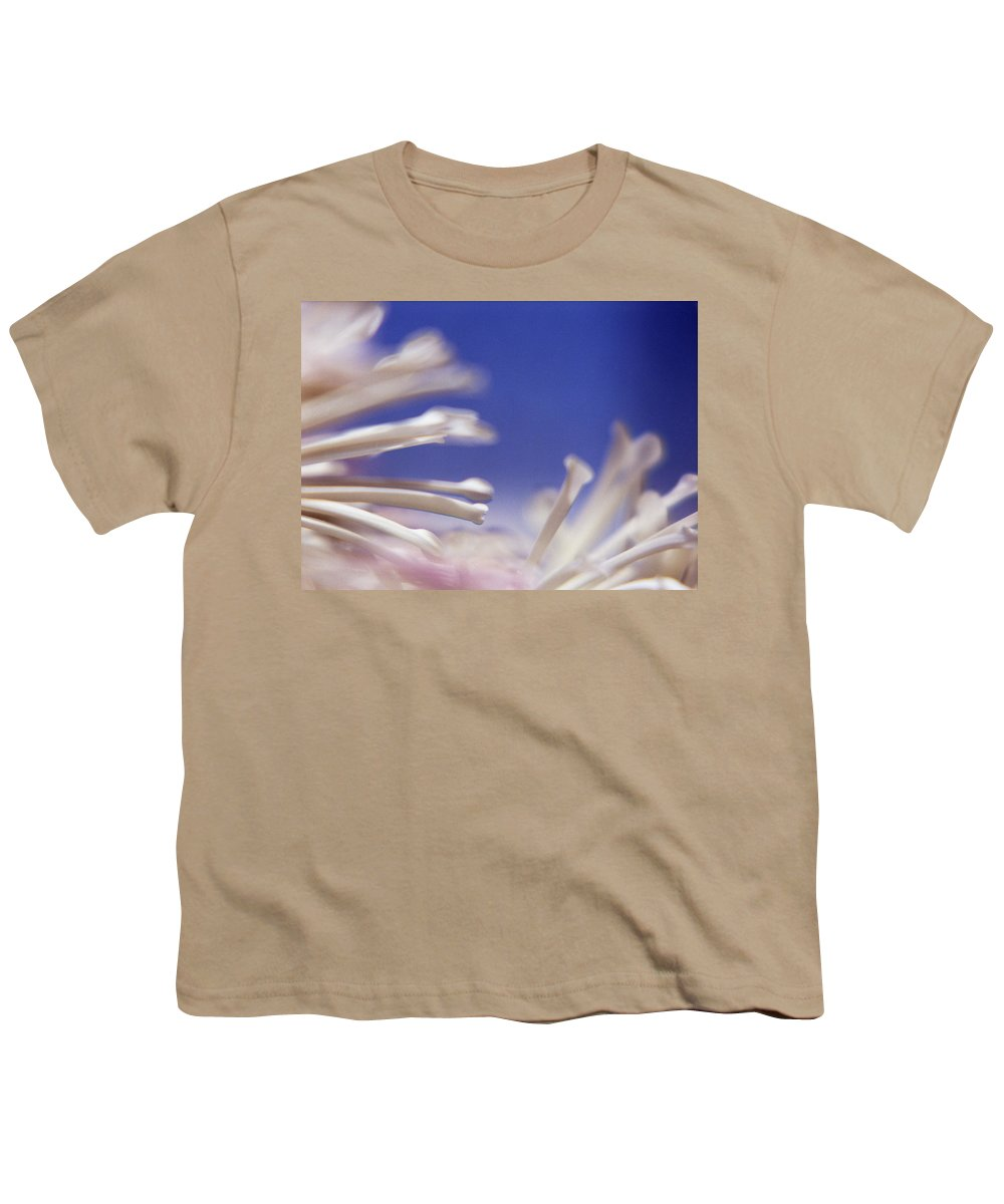 Macro Youth T-Shirt featuring the photograph Macro Flower 2 by Lee Santa