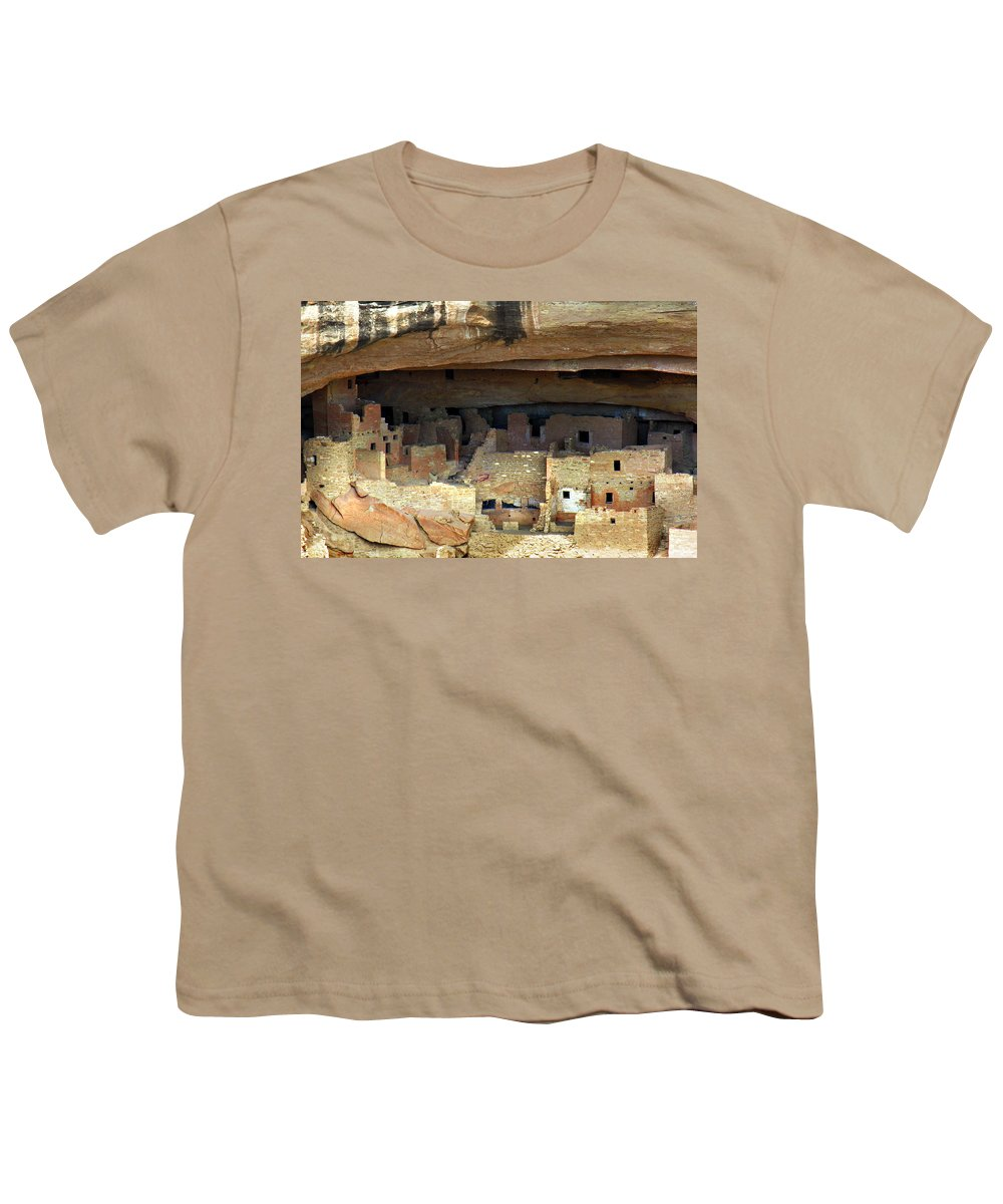 Americana Youth T-Shirt featuring the photograph Mesa Verde by Marilyn Hunt