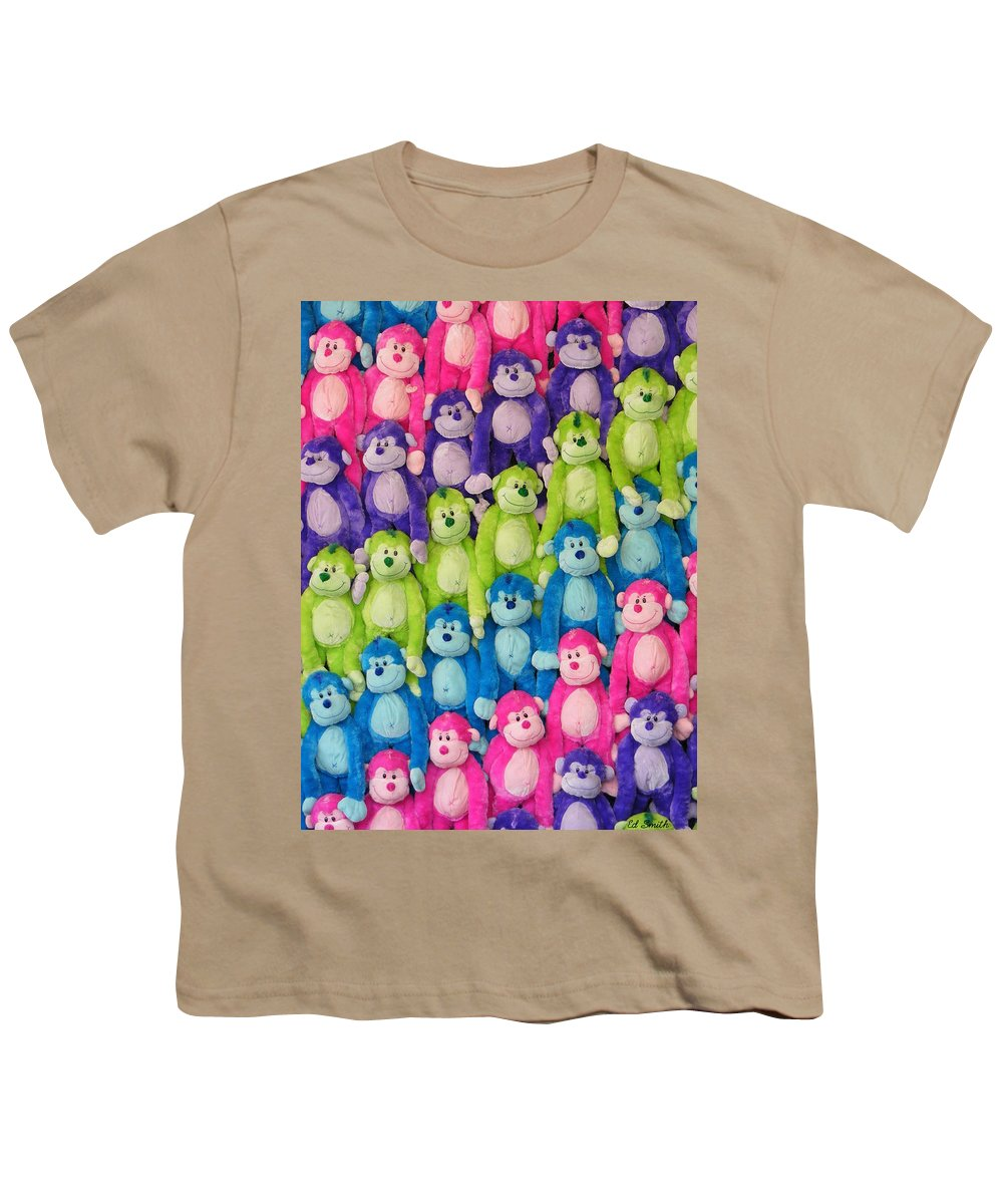 Ok Smiles Youth T-Shirt featuring the photograph Ok Smiles Everyone by Ed Smith