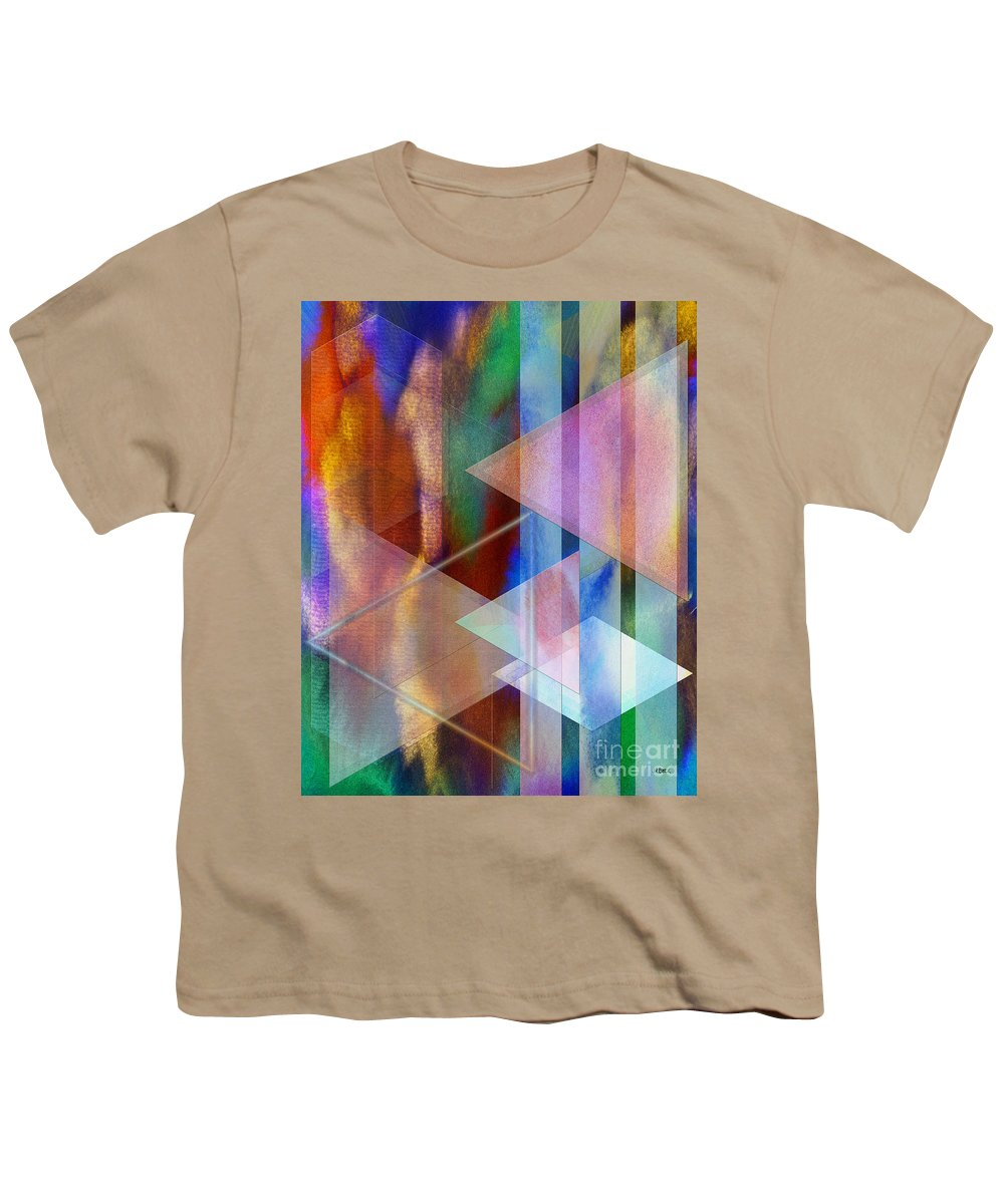 Pastoral Midnight Youth T-Shirt featuring the digital art Pastoral Midnight by John Beck