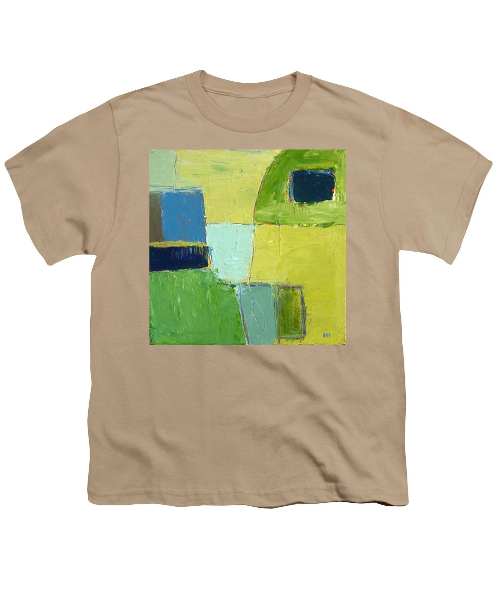 Abstract Youth T-Shirt featuring the painting Peace 1 by Habib Ayat
