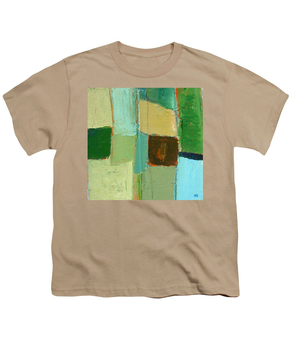 Youth T-Shirt featuring the painting Peace 2 by Habib Ayat