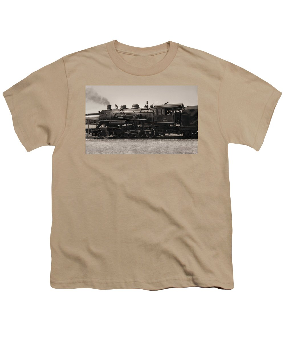 Americana Youth T-Shirt featuring the photograph Reverse Throttle by Richard Rizzo