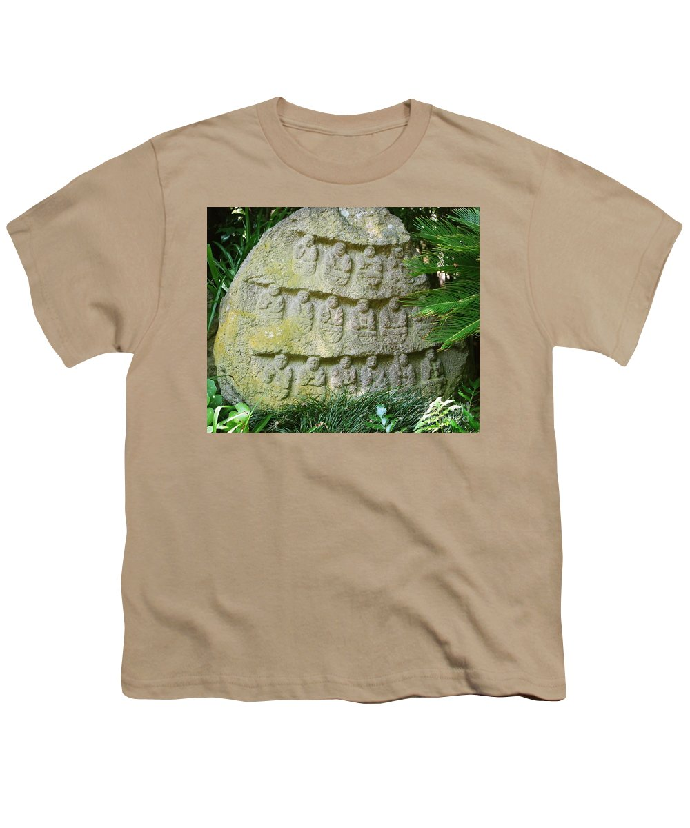 Stone Youth T-Shirt featuring the photograph Sacred Stone by Dean Triolo