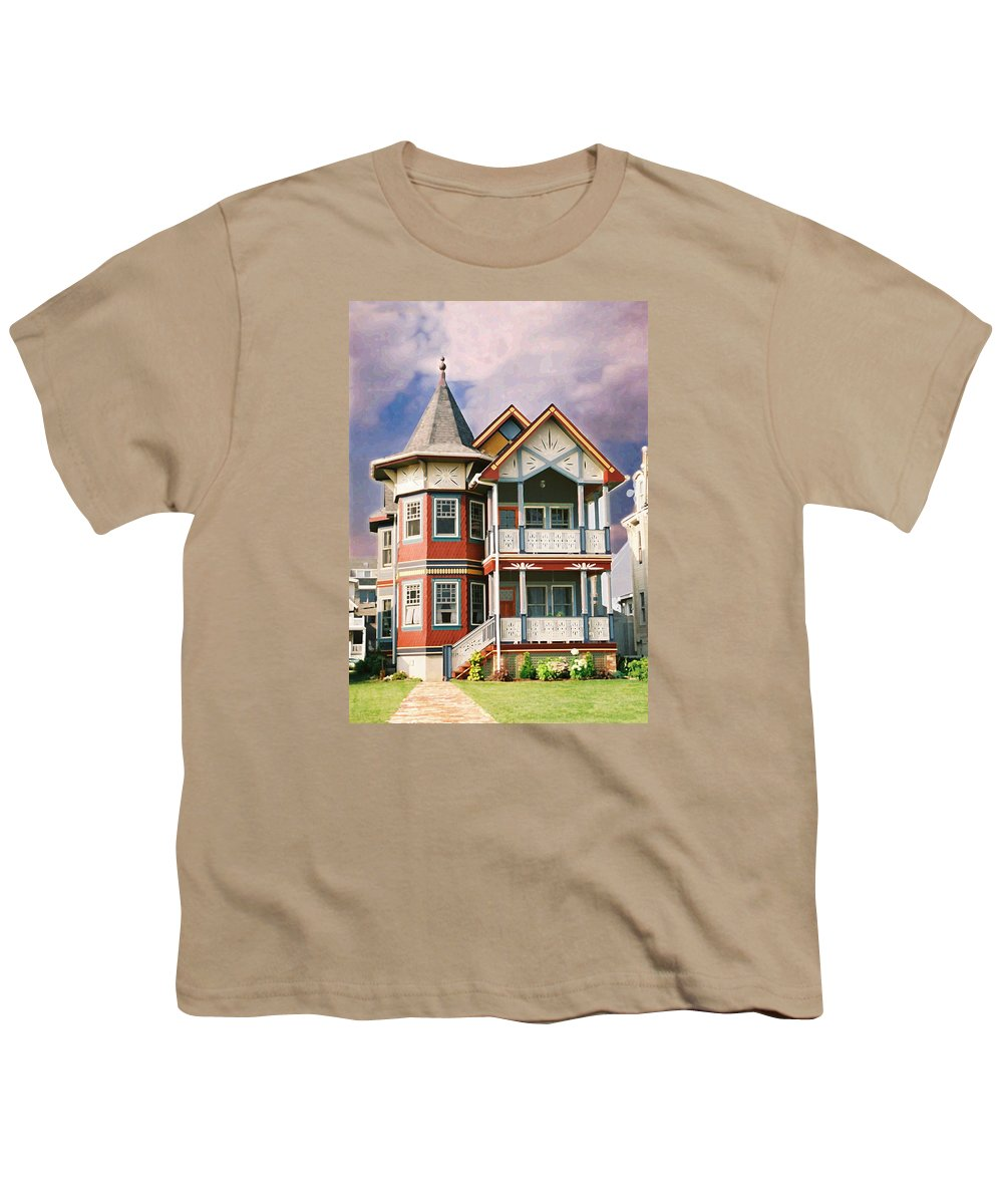 Landscape Youth T-Shirt featuring the photograph Sisters Panel Two Of Triptych by Steve Karol