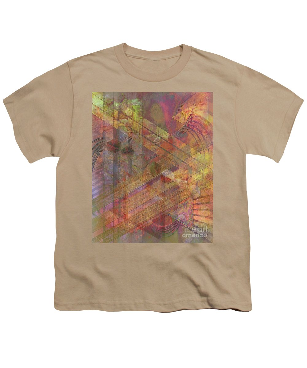 Soft Fantasia Youth T-Shirt featuring the digital art Soft Fantasia by John Beck