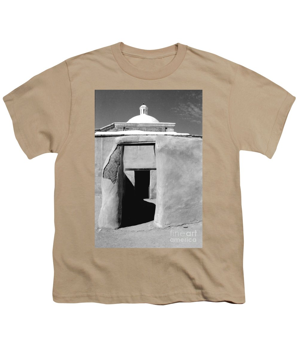 Shadows Youth T-Shirt featuring the photograph Sol Y Sombra by Kathy McClure