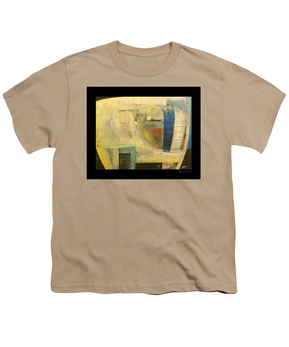 Dog Youth T-Shirt featuring the painting Space Dog by Tim Nyberg