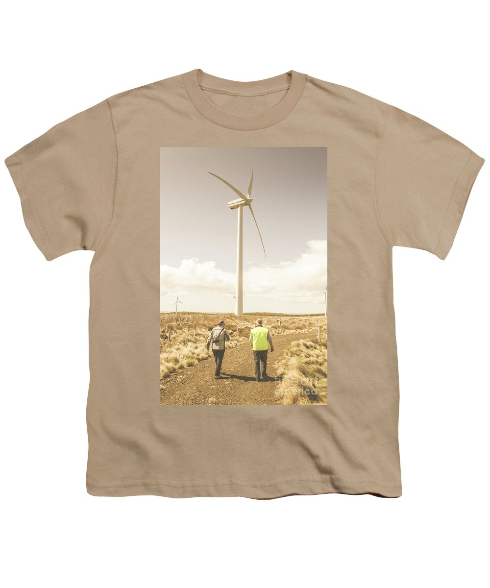 Turbine Youth T-Shirt featuring the photograph Tasmania Turbine Tours by Jorgo Photography - Wall Art Gallery