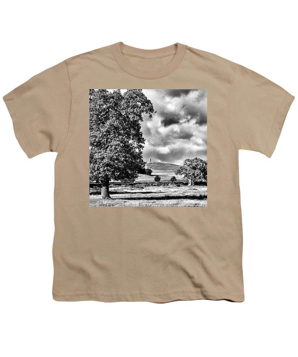 Parkland Youth T-Shirt featuring the photograph Old John Bradgate Park by John Edwards