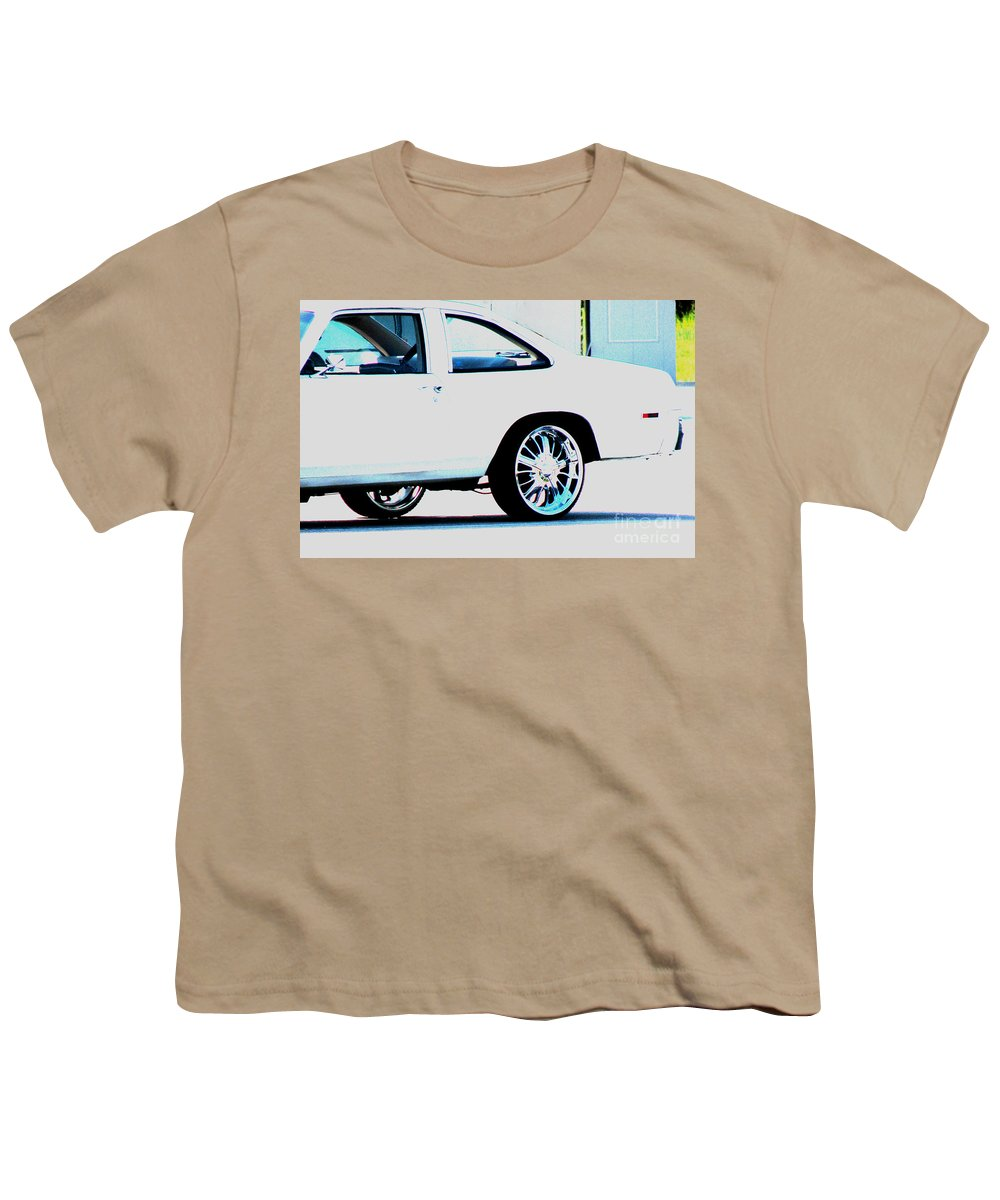 Car Youth T-Shirt featuring the photograph The Ride by Amanda Barcon
