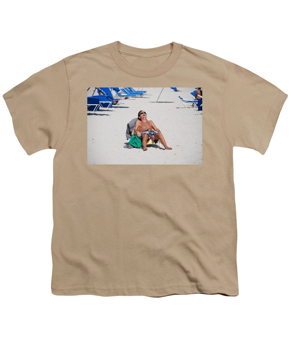 Beach Youth T-Shirt featuring the photograph Weekend At Bernies by Rob Hans