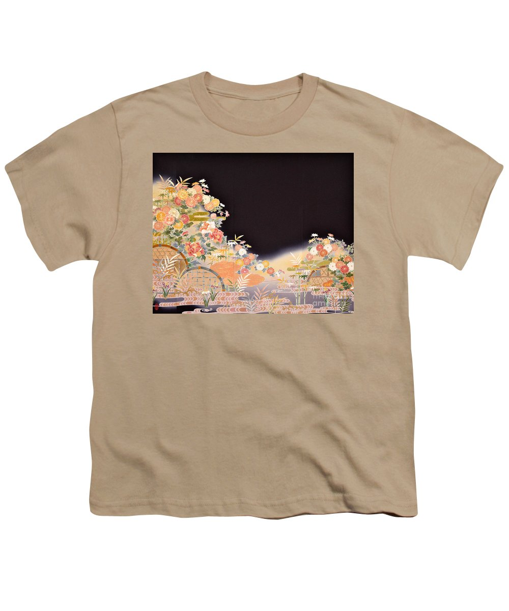Youth T-Shirt featuring the digital art Spirit of Japan T77 by Miho Kanamori