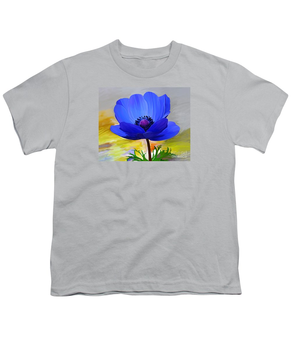 Fine Art Youth T-Shirt featuring the painting Lord Lieutenant by Patricia Griffin Brett