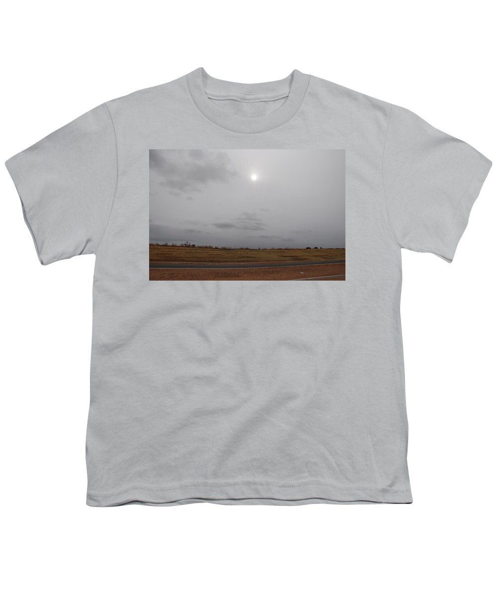 Desert Youth T-Shirt featuring the photograph Sunset In The Desert by Rob Hans