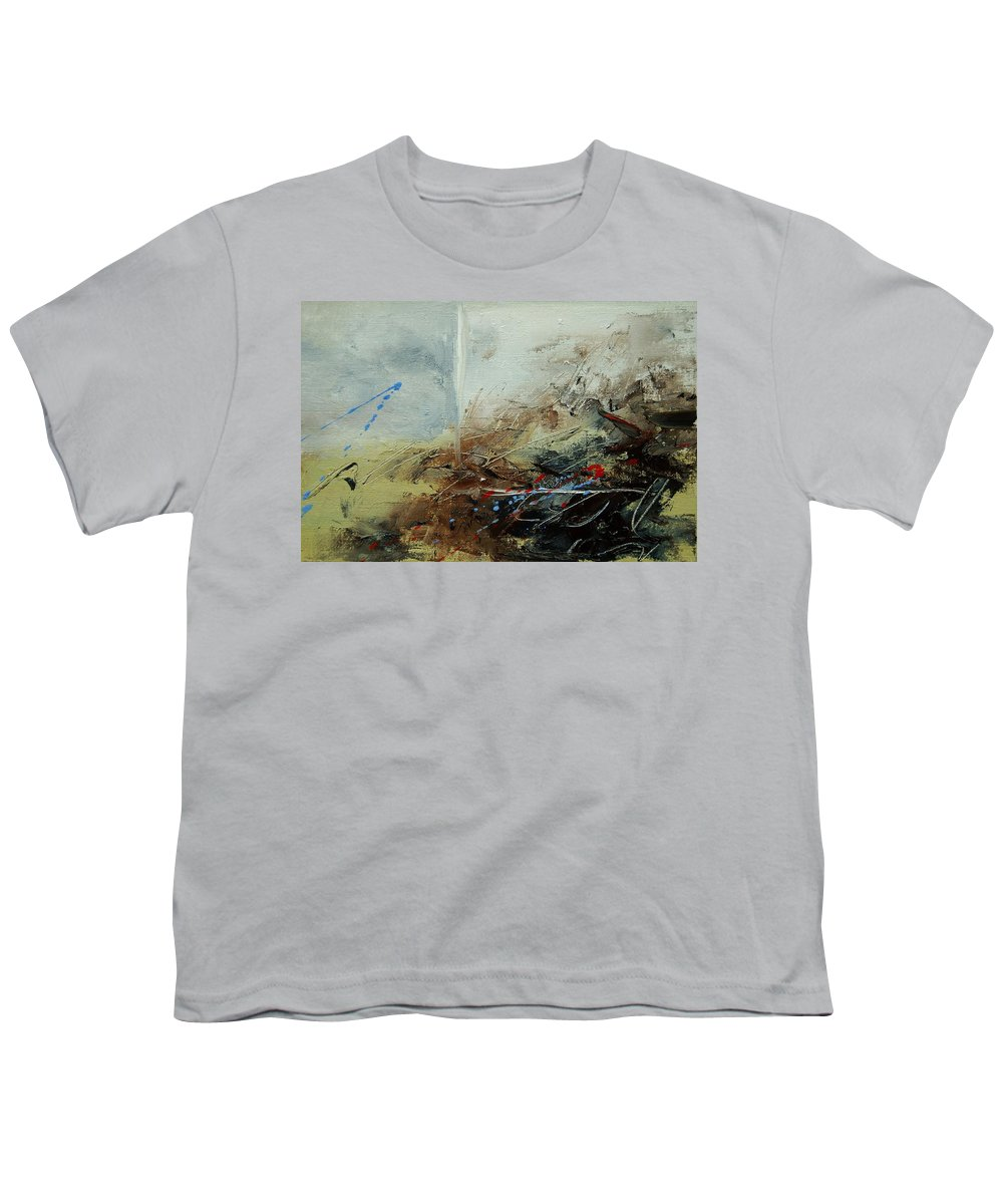 Abstract Youth T-Shirt featuring the print Abstract 070408 by Pol Ledent
