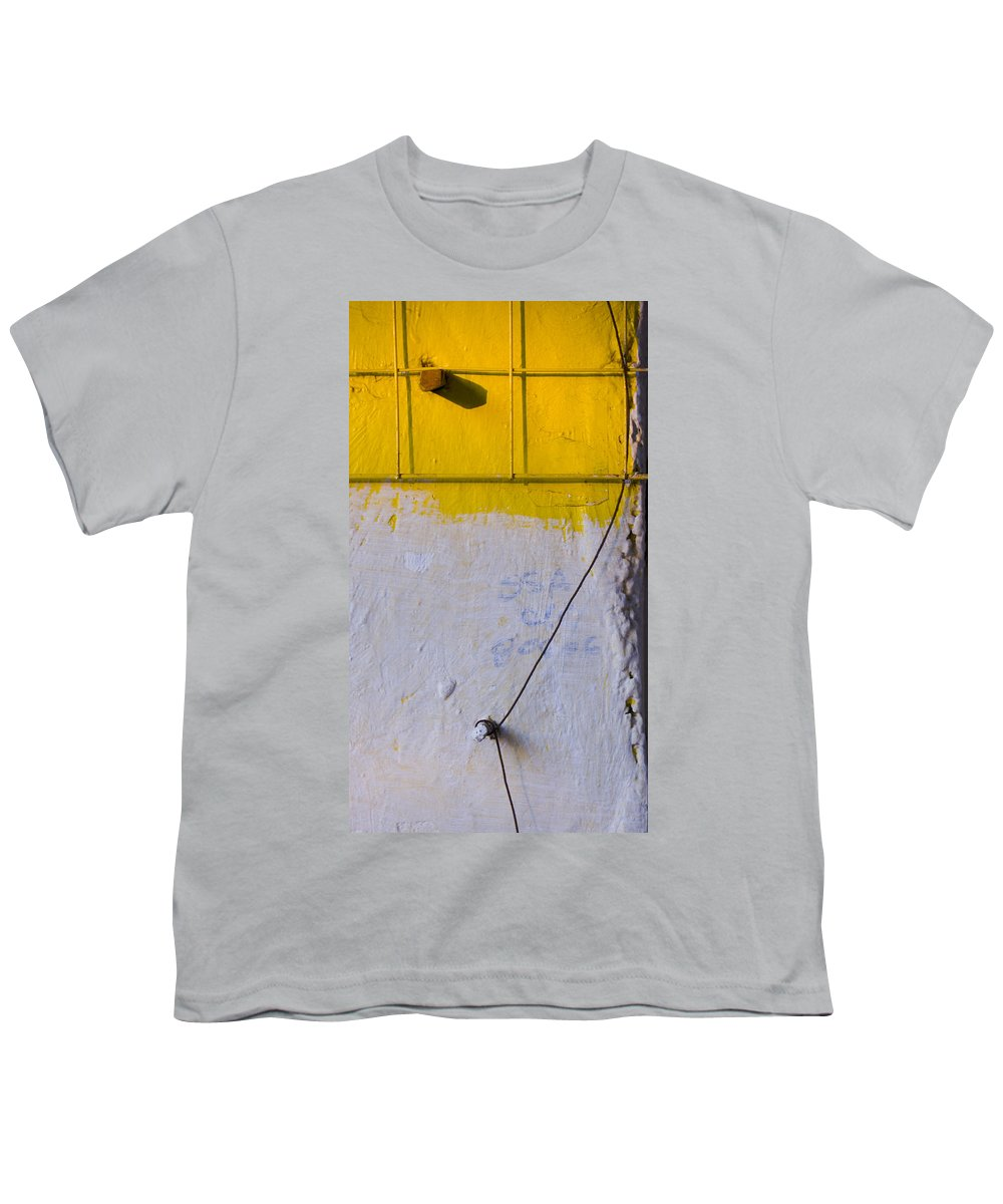 Abstract Youth T-Shirt featuring the photograph Amarillo by Skip Hunt