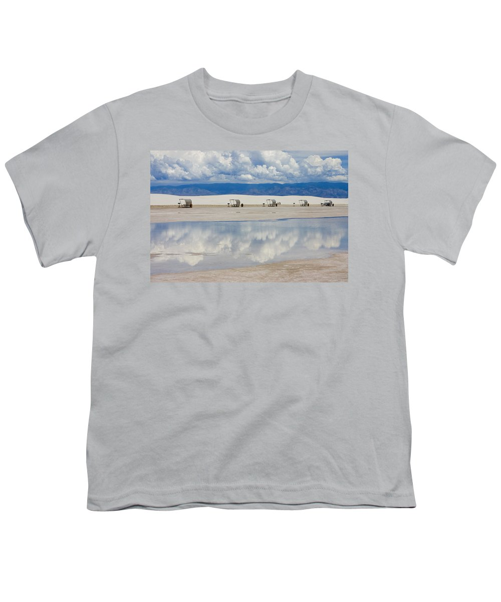 New Mexico Youth T-Shirt featuring the photograph Armageddon Picnic by Skip Hunt
