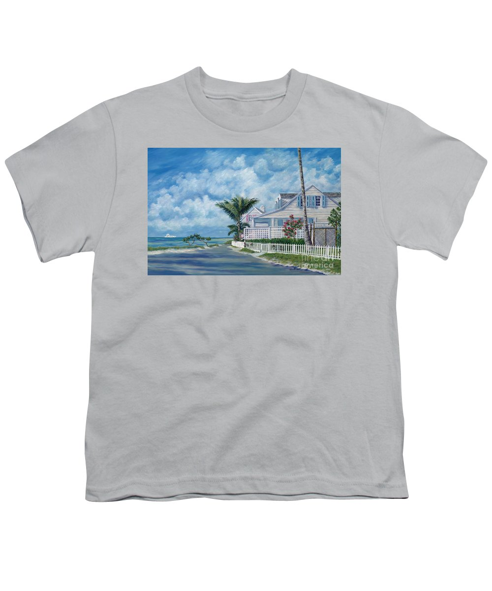 Harbor Island Youth T-Shirt featuring the painting Briland Breeze by Danielle Perry