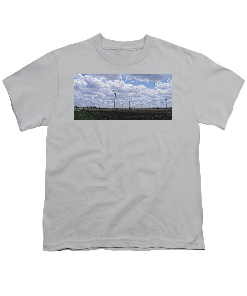 Wind Youth T-Shirt featuring the photograph Etched In Stone by Ed Smith