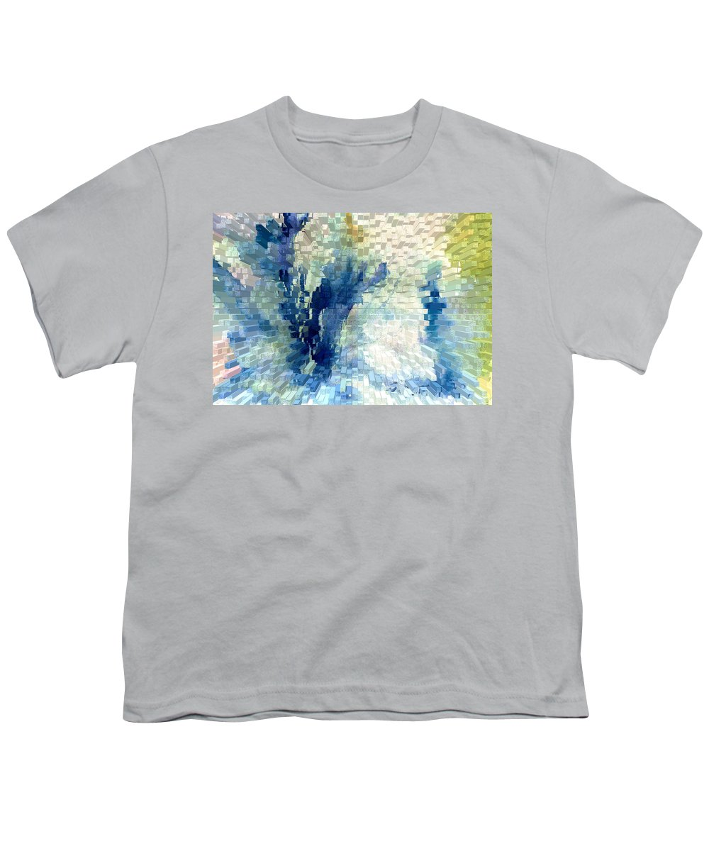 Abstract Youth T-Shirt featuring the painting Extrude by Steve Karol