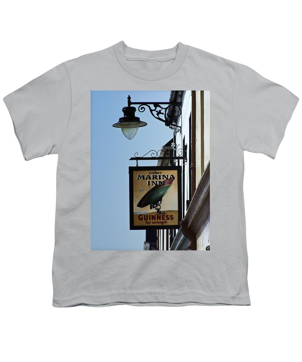 Irish Youth T-Shirt featuring the photograph Guinness For Strength Dingle Ireland by Teresa Mucha