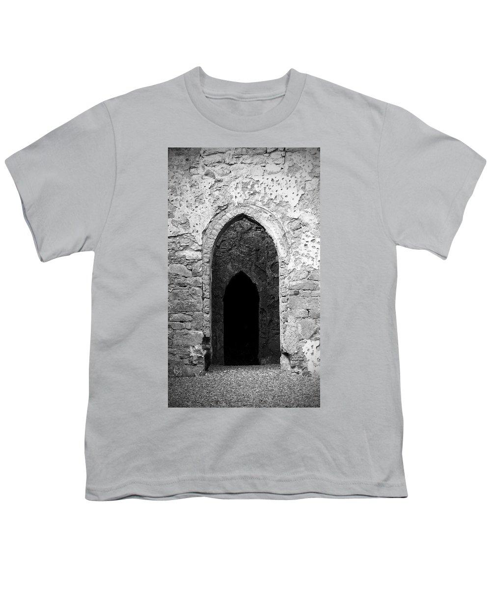Ireland Youth T-Shirt featuring the photograph Inner Sanctum Fuerty Church Roscommon Ireland by Teresa Mucha