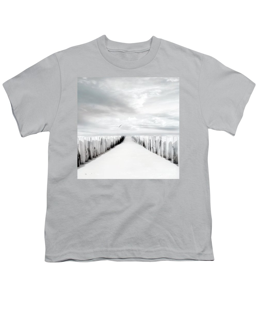 Beach Youth T-Shirt featuring the photograph Inviting by Jacky Gerritsen
