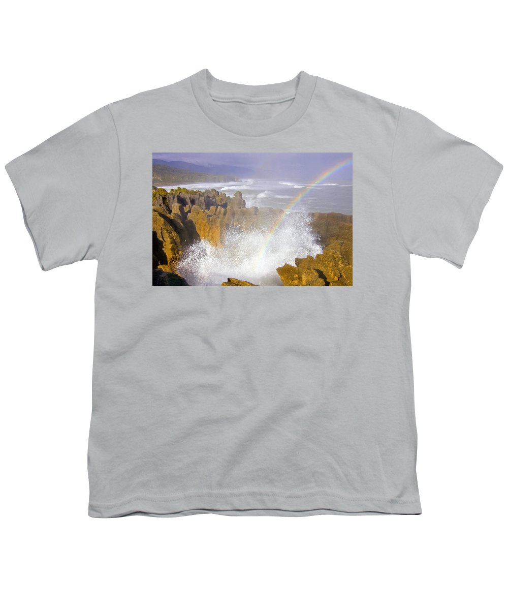 Paparoa Youth T-Shirt featuring the photograph Making Miracles by Mike Dawson