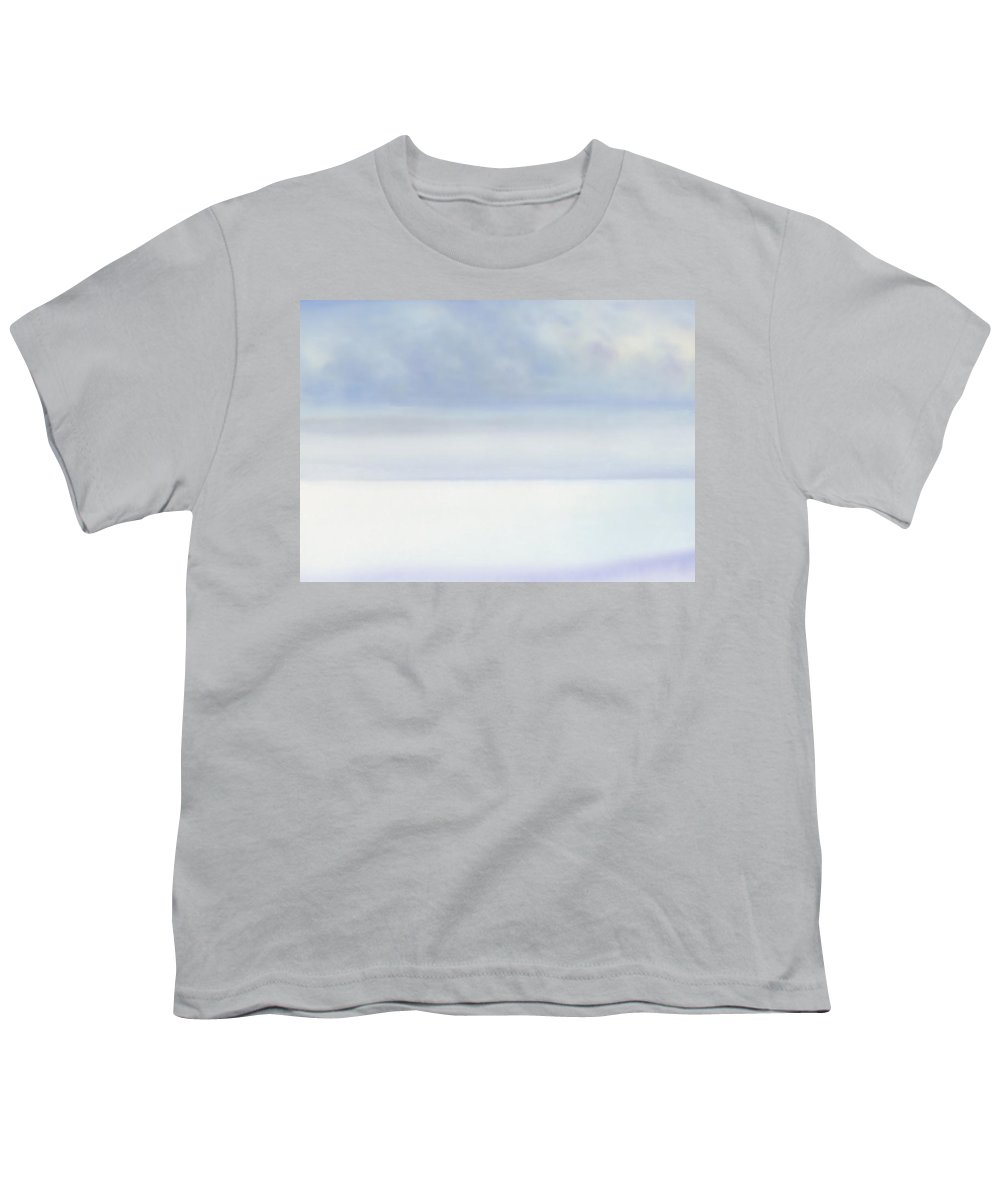 Moana Pearl Youth T-Shirt featuring the painting Moana Pearl 2 by Kevin Smith