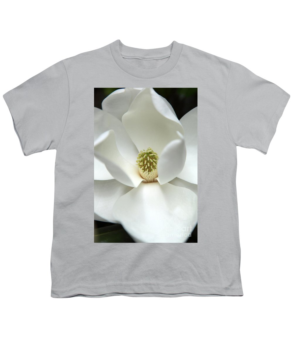 Magnolia Youth T-Shirt featuring the photograph Mysteriously by Amanda Barcon